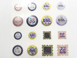 偽造防止ラベルDSL